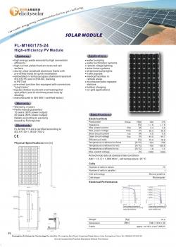 solarni panel FL-P FL-M 140W