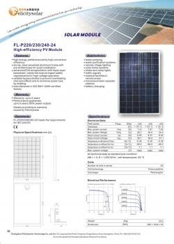 solarni panel FL-P FL-M 250W